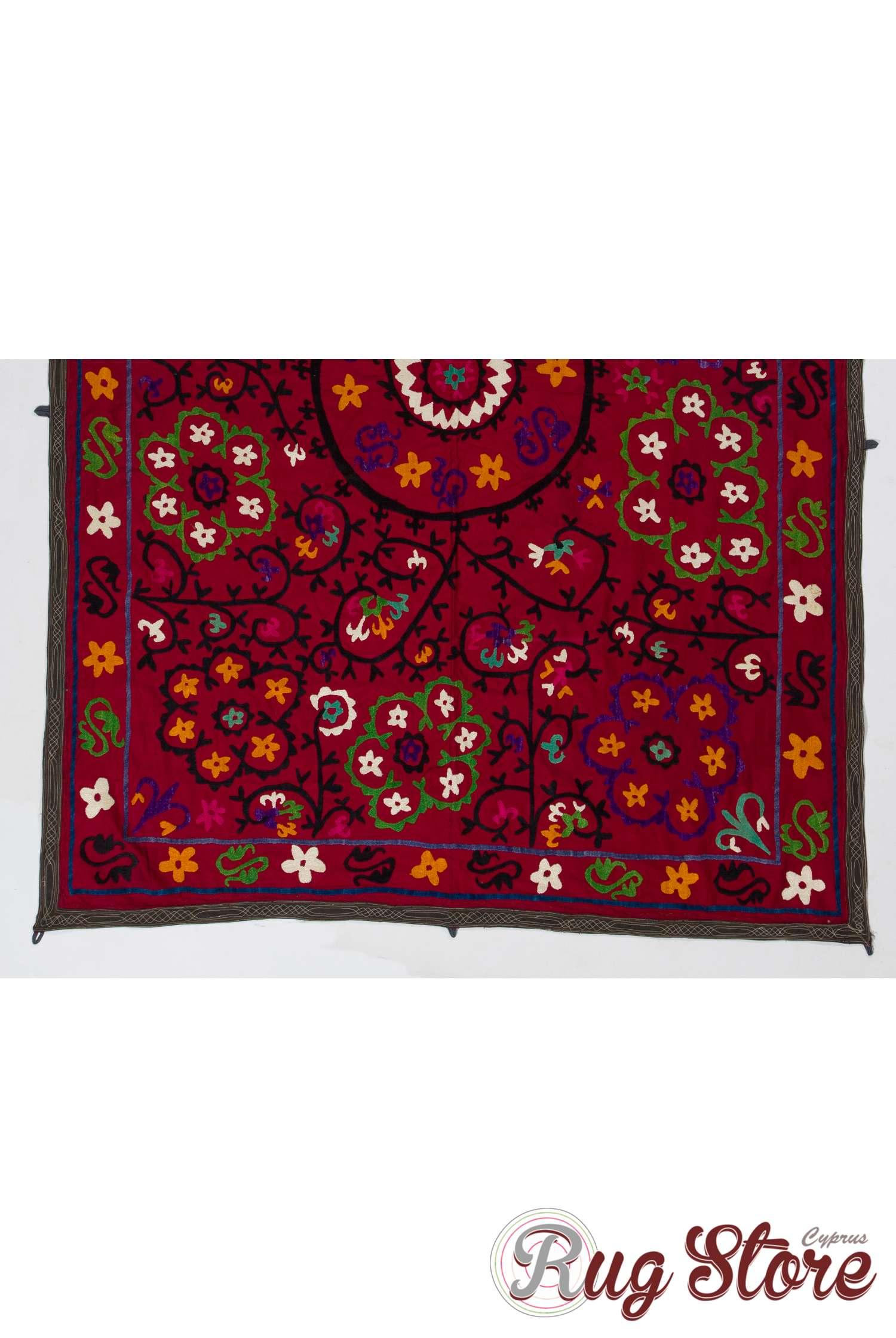 Vintage UZBEK Traditional Clothing Handmade Costum 140x75 cm 55/' x 30/' FREE SHIPPING